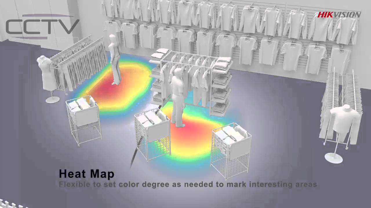Heat Mapping Cameras For Retailers